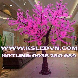 Cây Đèn LED Hoa Đỗ Quyên