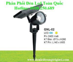 Đèn Ghim Cỏ Năng Lượng Mặt trời GNL02